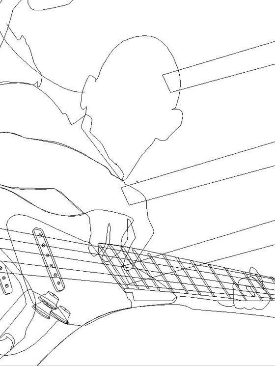 Kiss My Bass line work